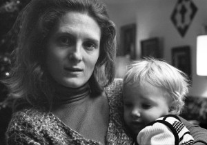 Irene Fedoryka and child