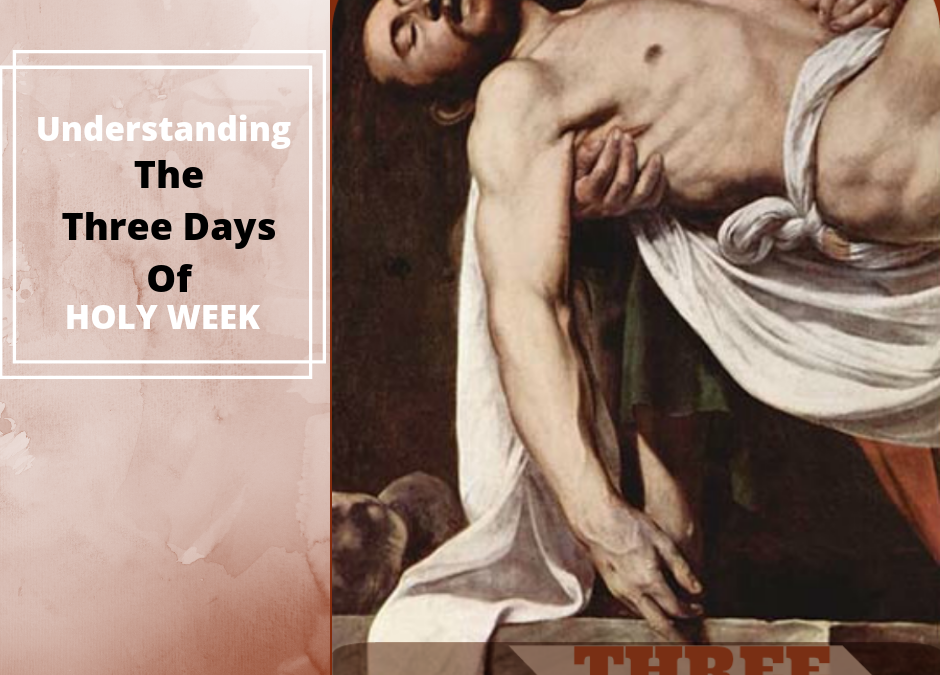 Understanding the Three Days of Holy Week