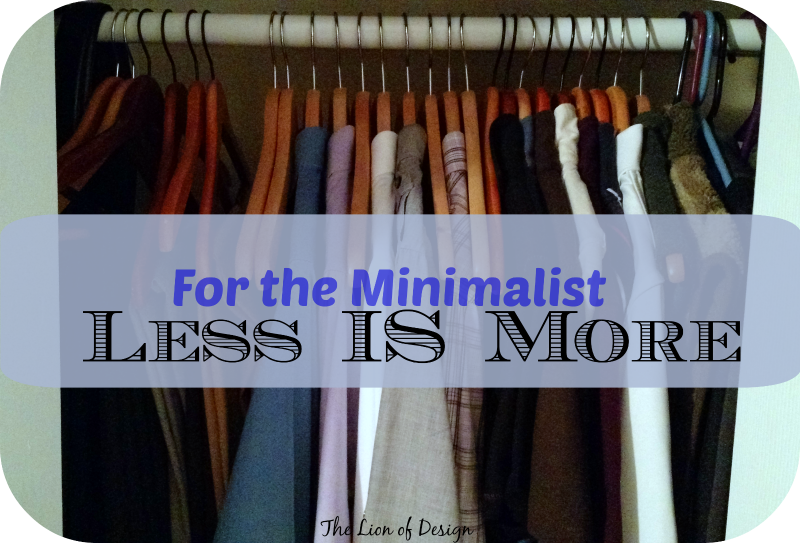 Married to a Minimalist
