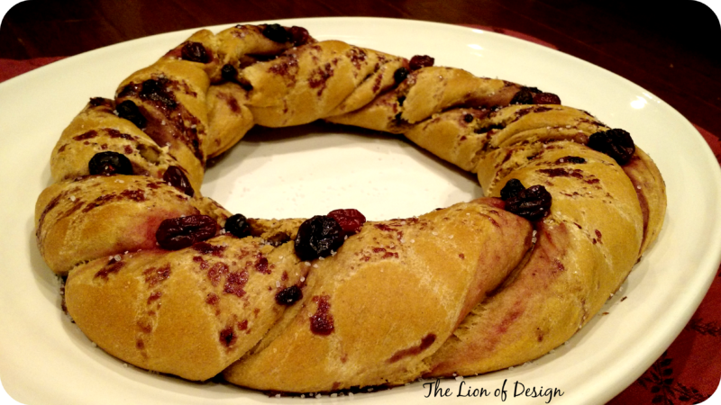 Three Kings Cake – Rosca De Reyes