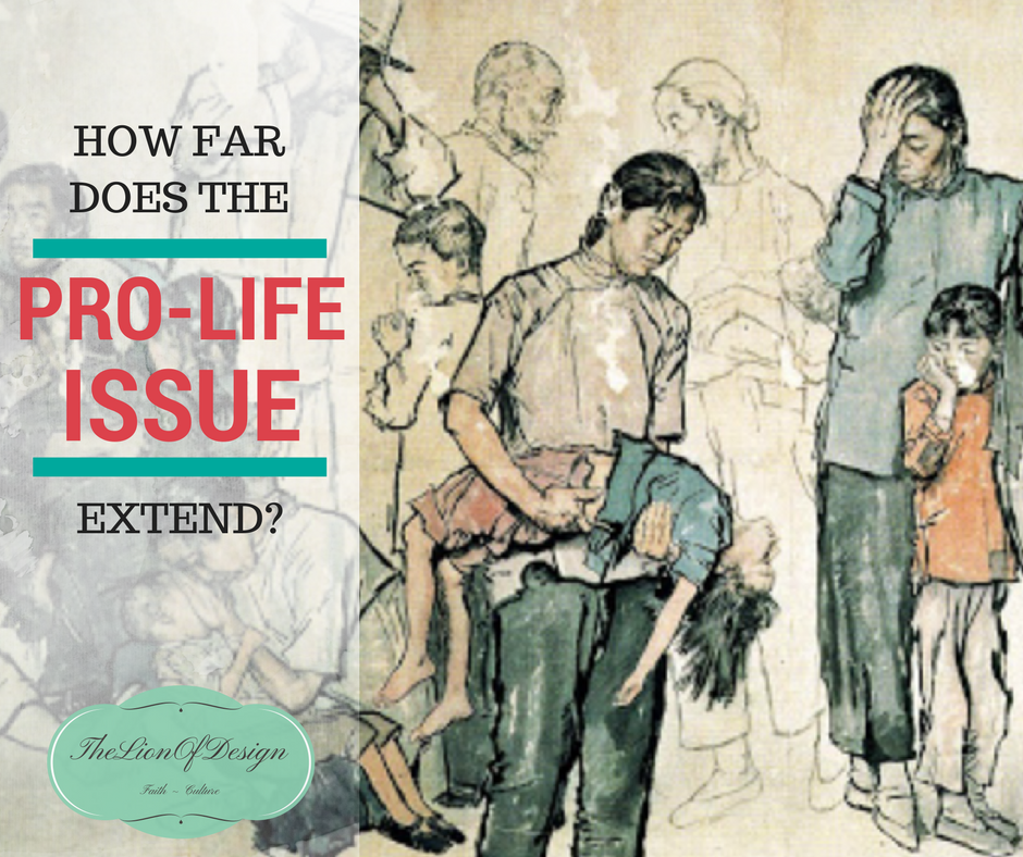 How Far Does the Pro-Life Issue Extend?