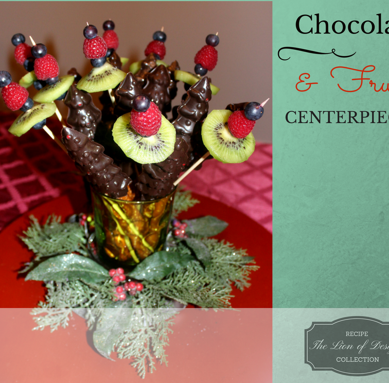 Beautifully Edible Christmas Centerpiece