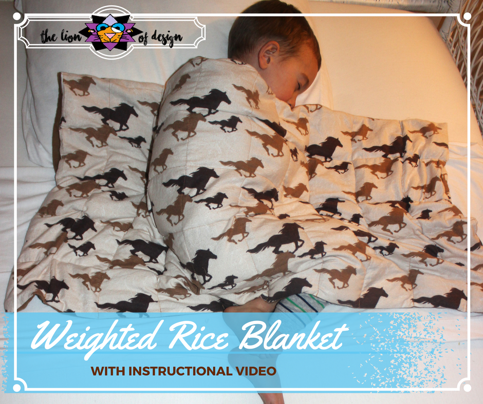Weighted Rice Blanket