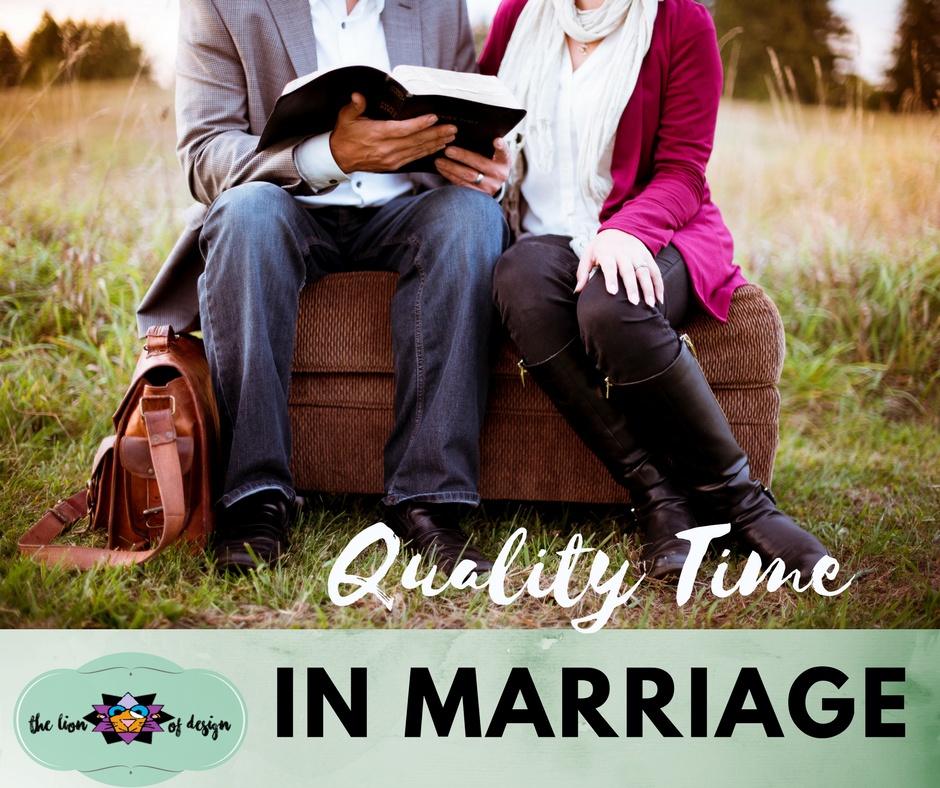 Quality Time in Marriage
