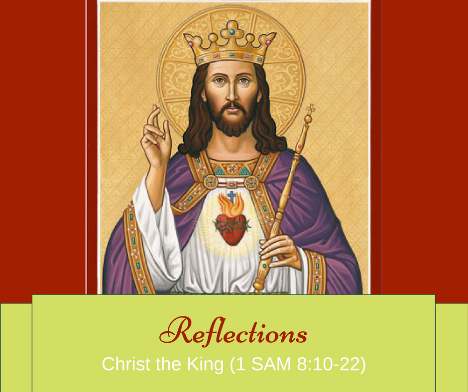 Gospel Reflections – Christ the King