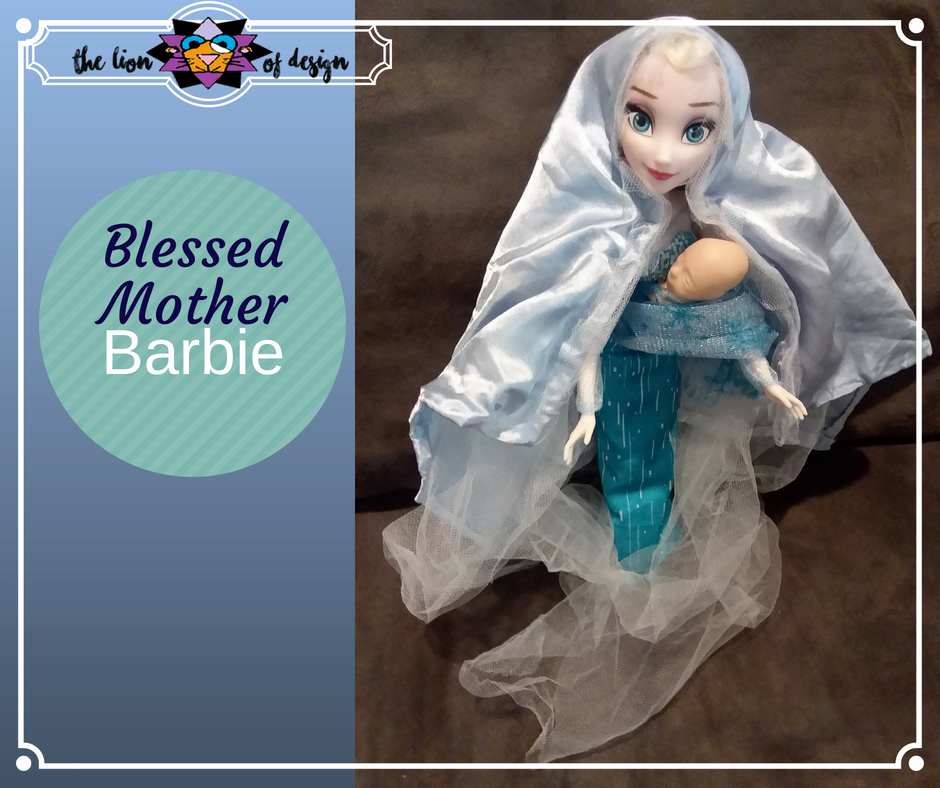 Blessed Mother Barbie – Veiling