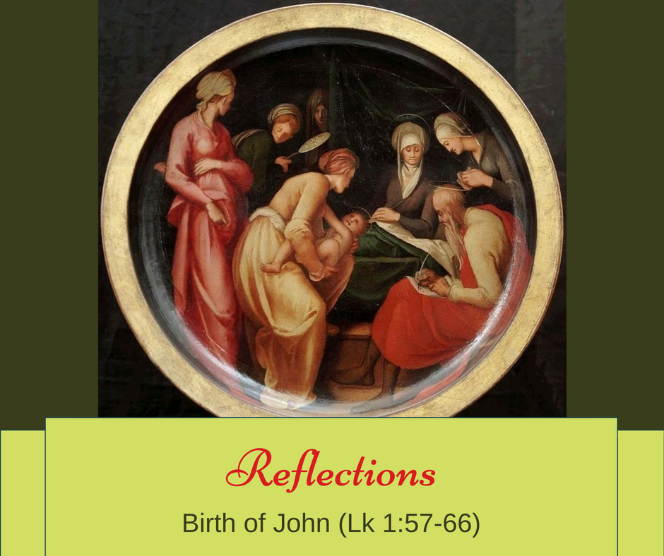 Gospel Reflections – Birth of John
