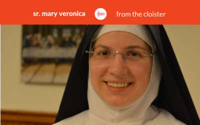 Podcast #17: Sr. Mary Veronica – From the Cloister
